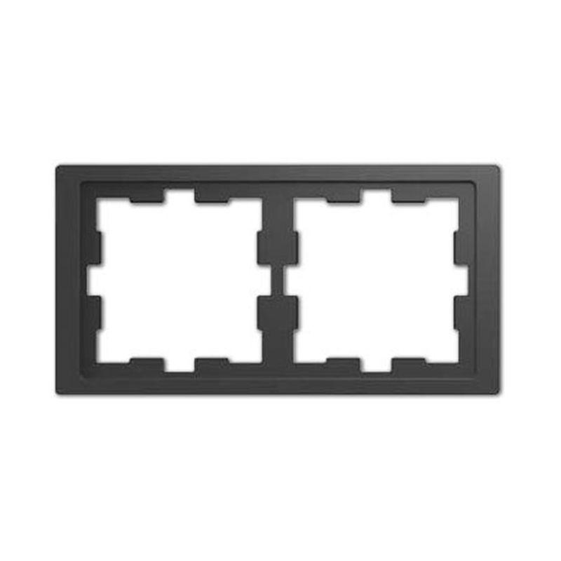 Marco 2 elementos antracita Schneider D-life MTN4020-6534