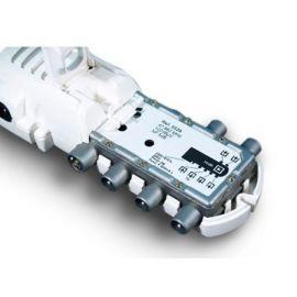 Amplificador vivienda 1E/4S conector CEI  552940 Televés