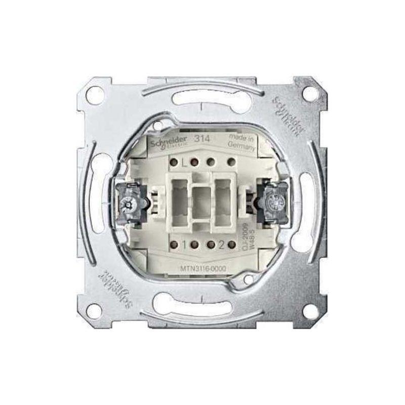 Interruptores y Enchufes por marca SCHNEIDER Conmutador Schneider MTN3116-0000 Series D-Life y Elegance