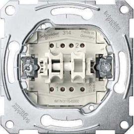 Conmutador doble Schneider Elegance MTN3126-0000