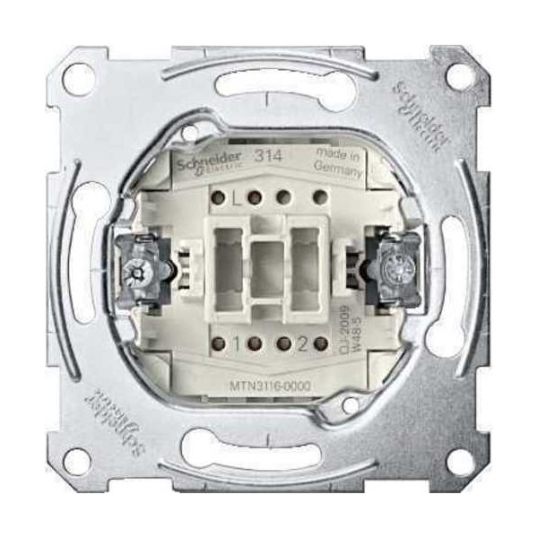 Pulsador Elegance Schneider MTN3150-0000