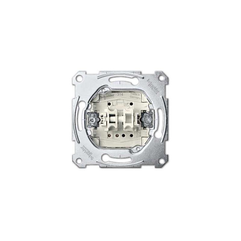 Interruptores y Enchufes por marca SCHNEIDER Pulsador doble Schneider MTN3155-0000 Series D-Life y Elegance