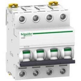 Interruptor Magnetotérmico 4P 25A iC60N 6/10KA Curva C Schneider A9F79425