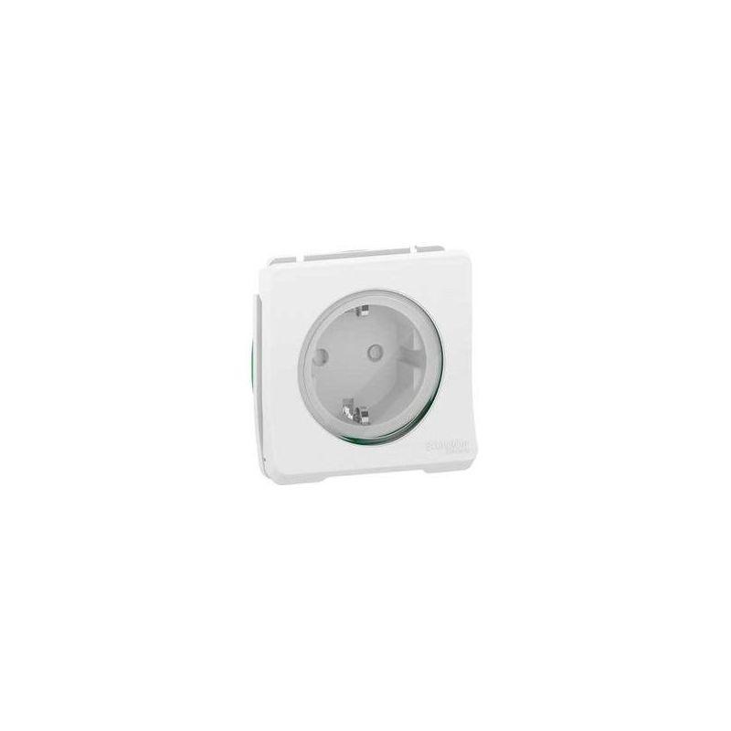 Interruptores y Enchufes por marca SCHNEIDER Enchufe schuko 2P+TT blanco Schneider Mureva Styl MUR39135