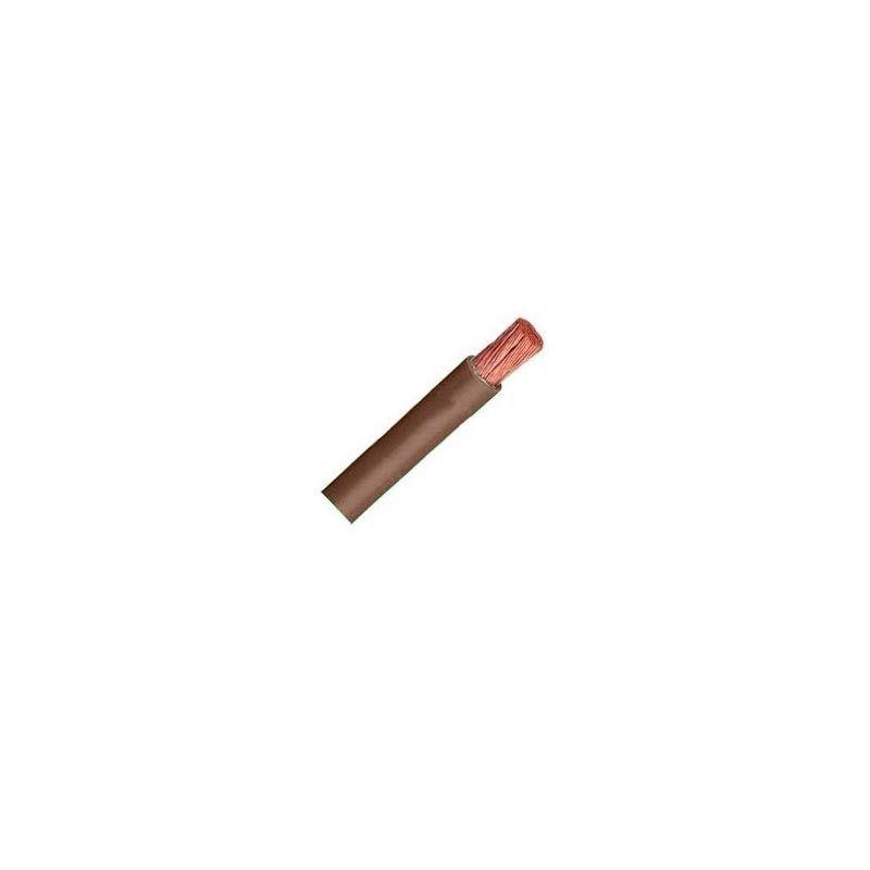 Cable Unipolar Flexible 1,5 mm2 marrón H07V-K