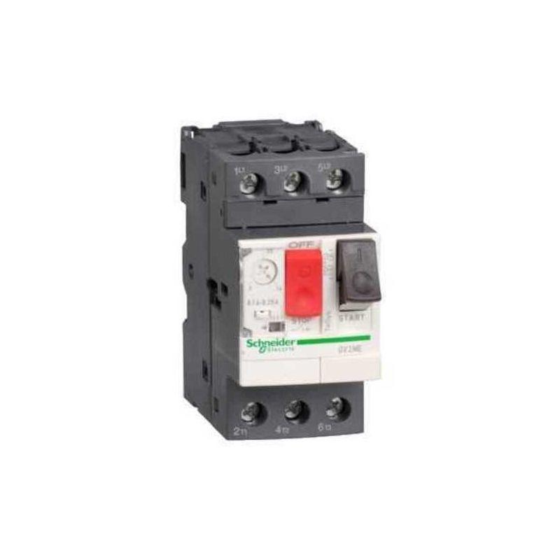 Guardamotores SCHNEIDER Disyuntor magnetotérmico 1-1,6A 3P GV2ME06 Schneider