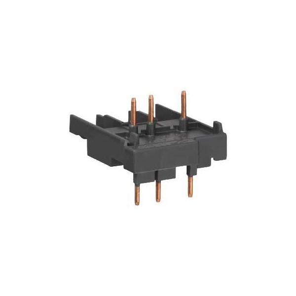 Bloque de conexión con contactor LC1K y LP1K GV2AF01
