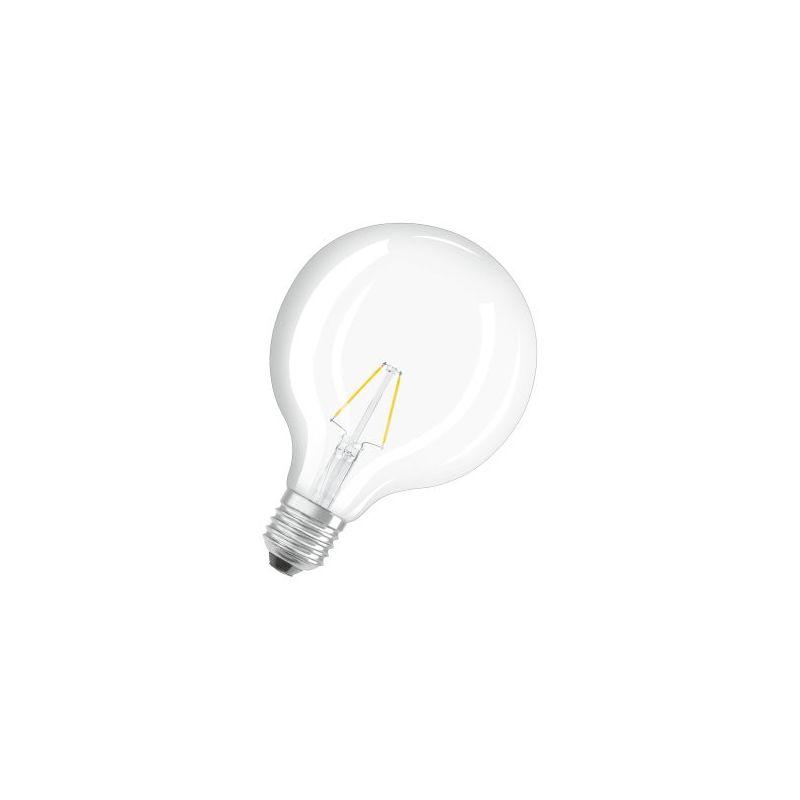 Bombilla LED Globo Retrofit clara 4W 827 E27 filamento