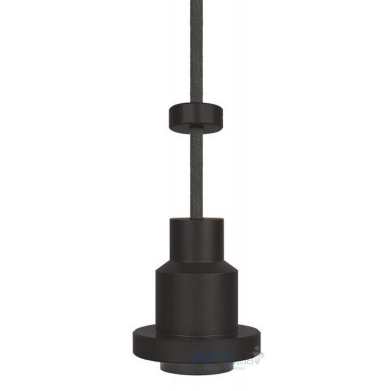 Portalámparas colgante vintage 1906 negro pendulum pro