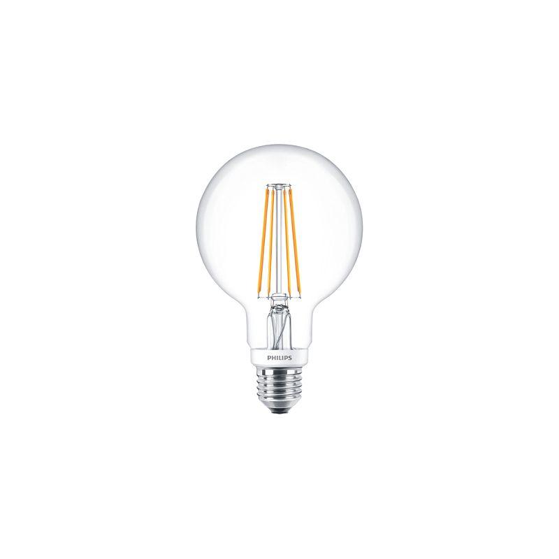 Bombilla regulable LEDglobe E27 G93 7W 827 Clara