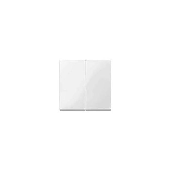 Tecla doble interruptor blanco marfil Elegance MTN432519