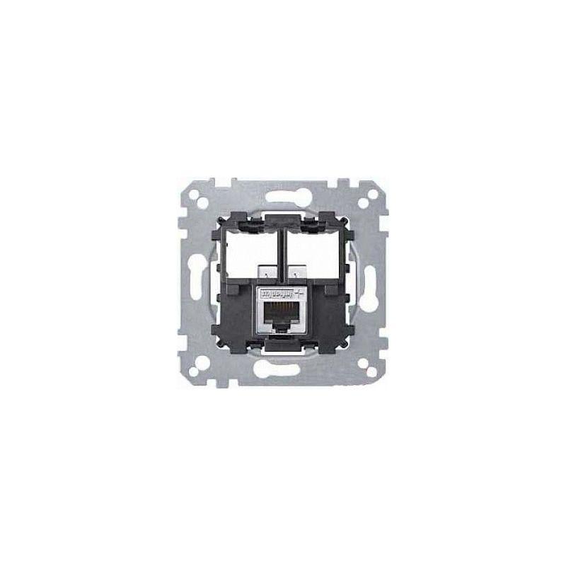 Toma RJ45 UTP categoría 5 Elegance Schneider MTN4575-0001