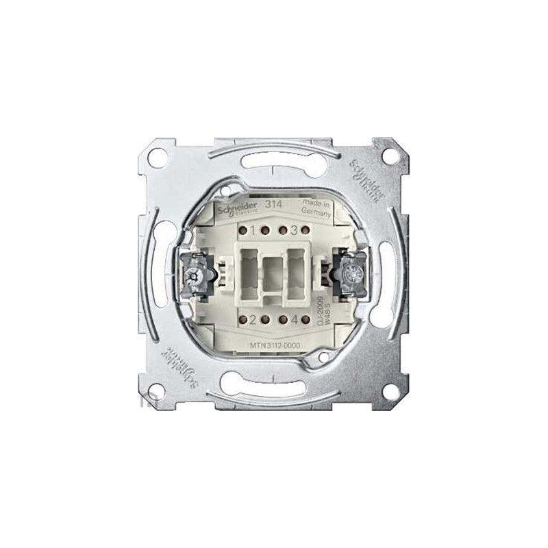 Interruptor bipolar Elegance Schneider MTN3612-0000