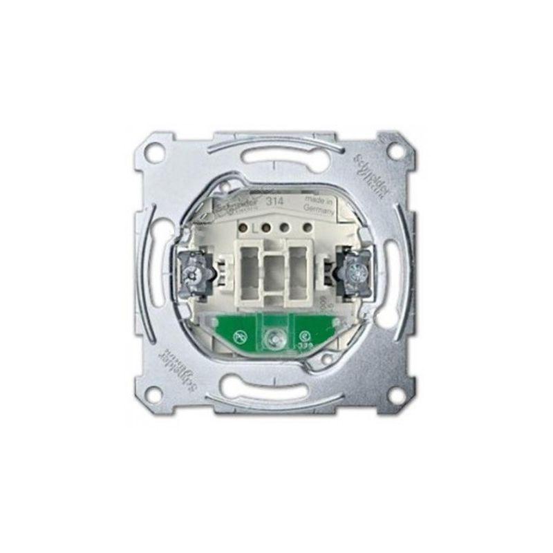 Interruptores y Enchufes por marca SCHNEIDER Pulsador con piloto localización MTN3160-0000 series Elegance y D-life Schneider