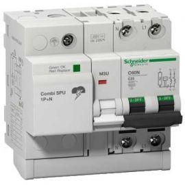 Combi SPU 1P+N 50A protección combinado sobretensión