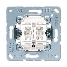 Doble pulsador 10A 535U serie LS990 de Jung