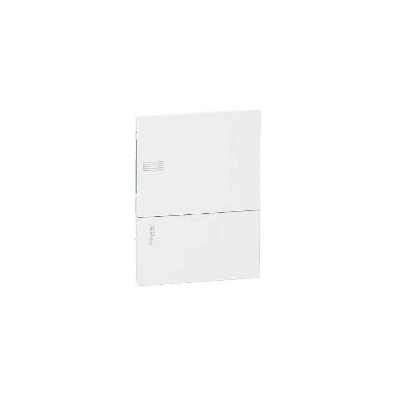 Cuadro distribución 6 elementos empotrar Mini Pragma blanco