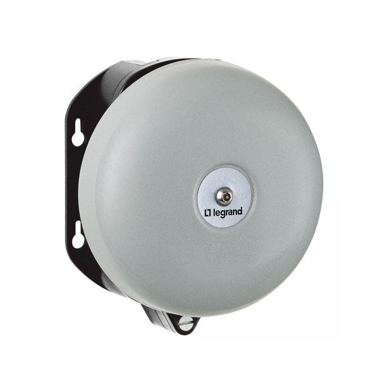 Avisadores acústicos y luminosos LEGRAND Timbre de alta potencia 220V 150 mm diámetro Legrand 041419