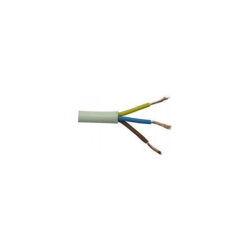Manguera 3X1,5mm H05VV-F blanca Rollo 100m