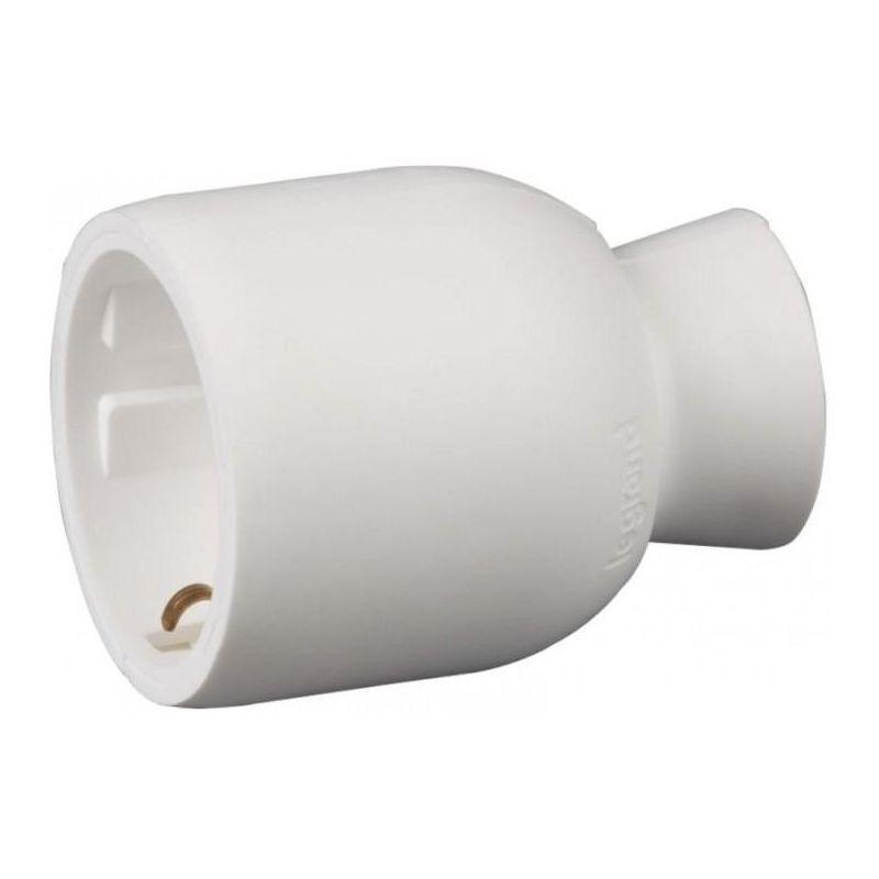 Base enchufe movil 2P+T 16A blanco Legrand