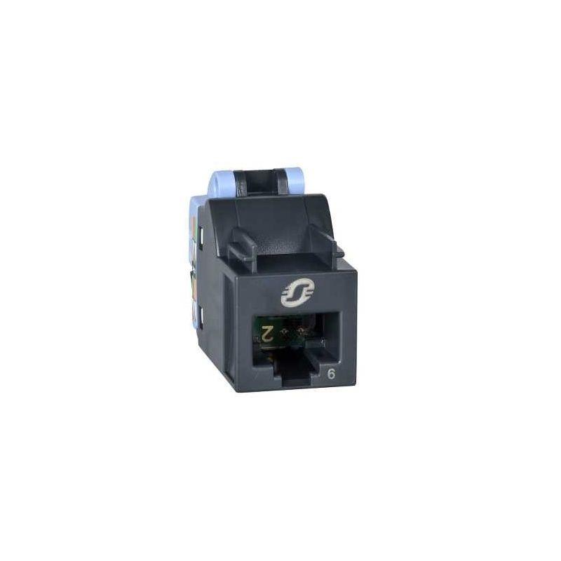 Conector hembra RJ45 UTP CAT6 Actassi S-One