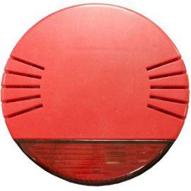 Sirena óptico-acústica para interior roja Golmar