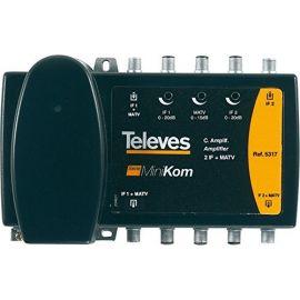 Central Amplificadora ICT Minikon 2 FI+MATV Televes