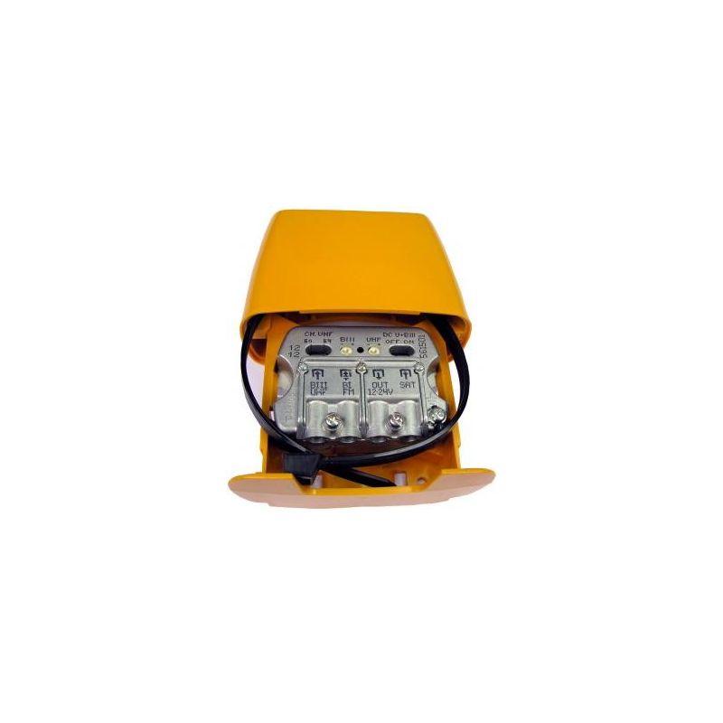 Amplificador de mástil 3E 1S BIII-UHF Televés 561501