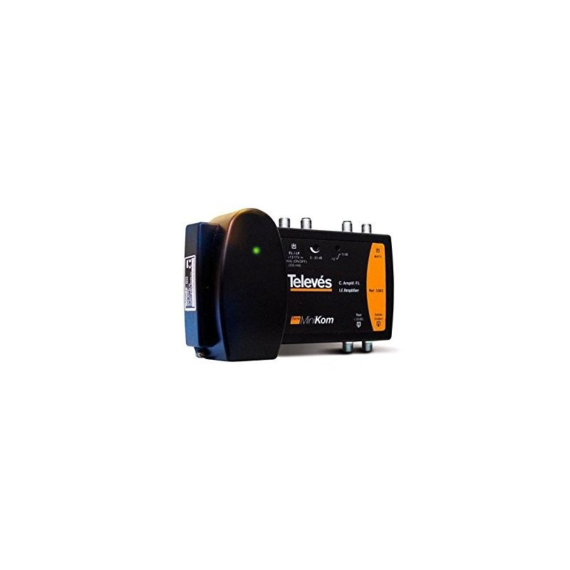 Central amplificadora terrestre SAT 2E 1S Televes 5363