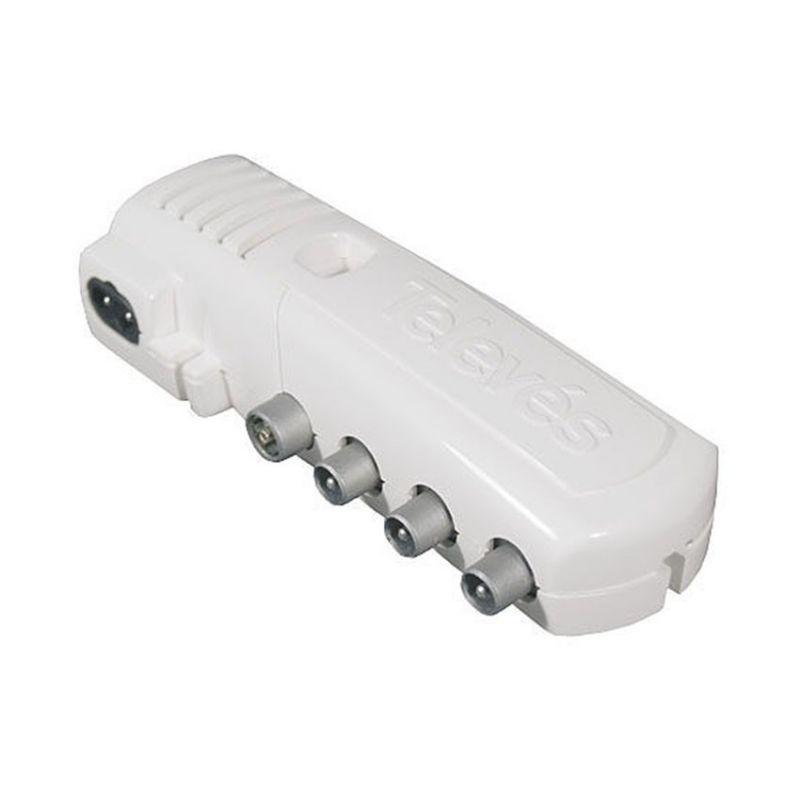 Amplificadores y Fuentes de alimentación TELEVES Amplificador interior de vivienda 2 salidas + TV Televes 5530