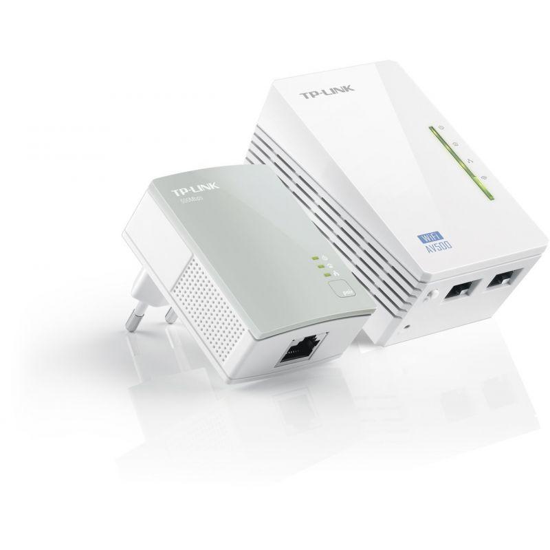 Extensor de red por línea eléctrica WiFi TL-WPA4220KIT