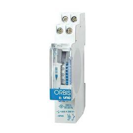 Interruptor horario modular 230V Orbis UNO-D SIN reserva
