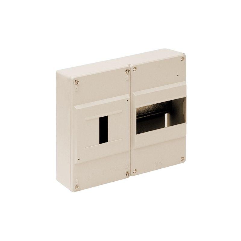 Cuadro automáticos superficie 6 elementos + ICP marfil Solera