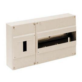 Cuadro automáticos superficie 12 elementos + ICP marfil Solera