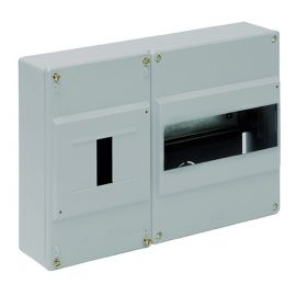 Cuadro automáticos superficie 8 elementos + ICP gris Solera