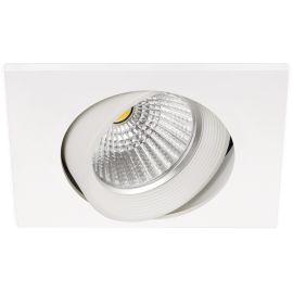 Foco led Dot Square Tilt blanco 830 7,5W Arkoslight A0650211W