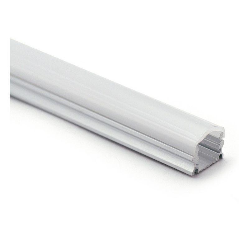 Perfil de superficie aluminio 2 metros sin difusor