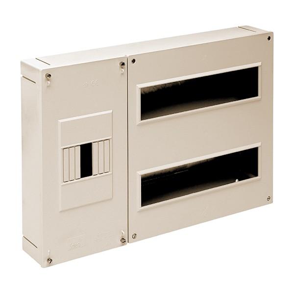 Cuadro automáticos superficie 24 elementos + ICP marfil Solera