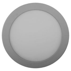 Downlight LED Micro panel 8W luz cálida Ø120mm aluminio