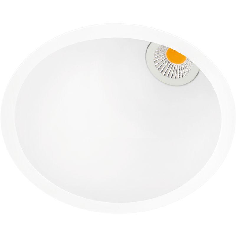 Aro LED Swap L 5W 4000K Asimétrico blanco