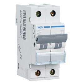 Interruptores magnetotérmicos HAGER Interruptor Automático Magnetotérmico 2P 10A MU Hager MUN210A