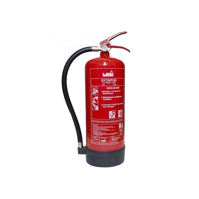 Extintor portátil de Polvo ABC 6Kg