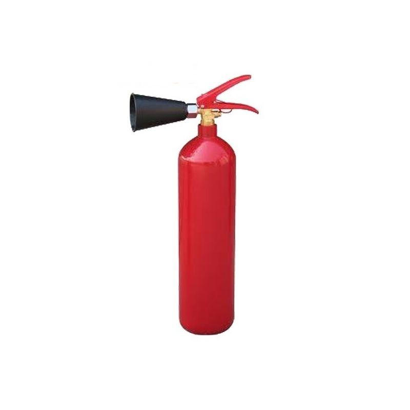 Extintor de CO2 2 Kg. con vaso difusor