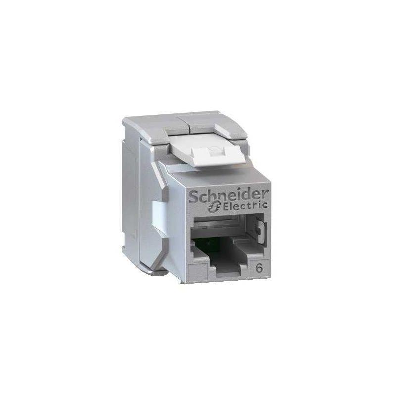 Conector RJ45 Cat 6 FTP Keystone Schneider