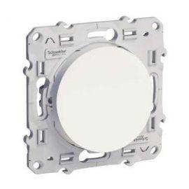 Pulsador blanco Schneider Odace S520206