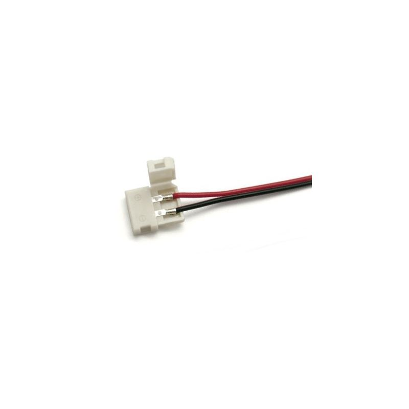 Cable conector rápido tira LED monocolor 8mm