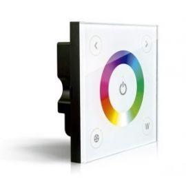 Controlador táctil empotrar para tiras LED RGB+W 12/24V