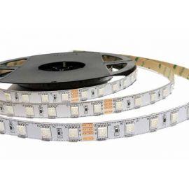 Rollo 5 metros tira de led flexible 14,4W/m RGB+W 24V 3000K