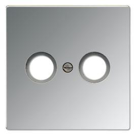 Tecla televisión aluminio AL2990TV de Jung