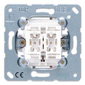 Pulsador para persianas 539VU serie LS990 de Jung